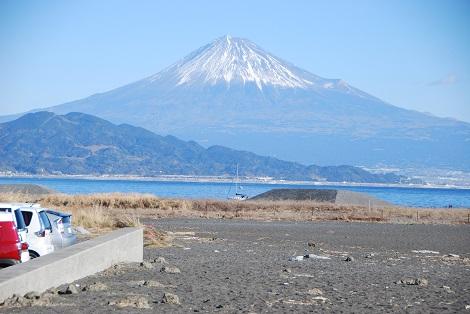 三保の松原から富士の高嶺を見る...